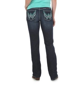 Wrangler Women's Wrangler Shiloh Low-Rise Boot Cut Jeans