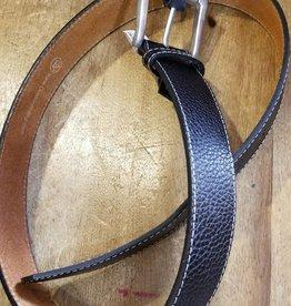 """Ovation Ovation Dover Downs Belt black/silver 32"""" Large"""