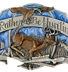 WEX Belt Buckle - I'd Rather be Hunting
