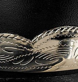WEX Boot Heel Guards - Scalloped Silver Engraved