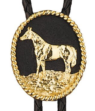 WEX Bolo Tie - Standing Horse