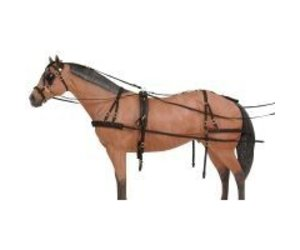 e7a59212130a Tough-1 Challenger Deluxe Nylon Harness - Miniature - Gass Horse ...