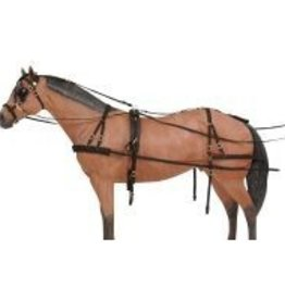 Tough-1 Challenger Deluxe Nylon Harness - Horse