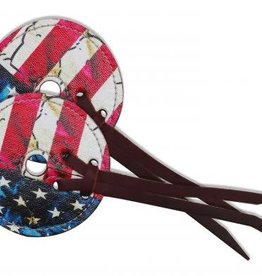 Showman Bit Guards - Showman American Flag