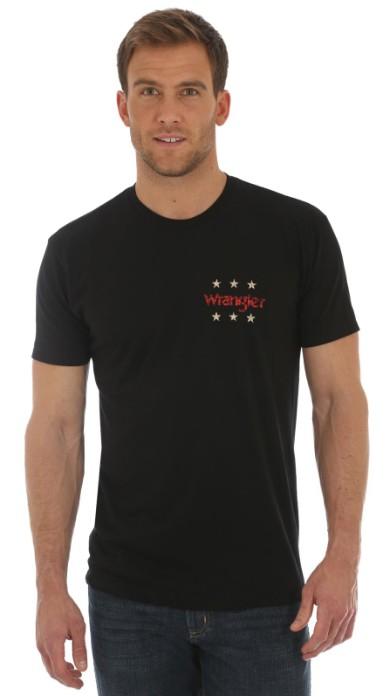 Wrangler Men's Wrangler T-Shirt - Black PBR