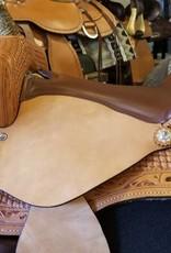 "Nash Saddlery Nash Branson Barrel Saddle - 16"" Reg Bar"