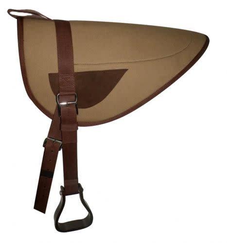 Showman Canvas Top Bareback Pad - Horse Size
