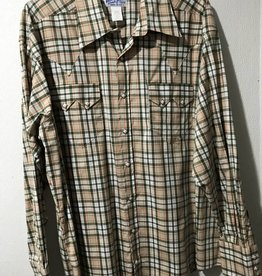 Rockmount Men's Shadow Plaid Relaxed Shirt Green XL Reg $83.95 @ 35% Off  $54.95