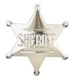 WEX Badge - Sheriff Pin Silver