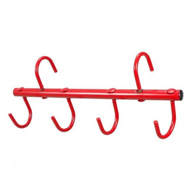Tough-1 4-Prong Portable Tack Rack with Swivel Hooks