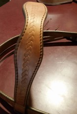 Circle L Circle L Scalloped Headstall, U.S.A. Made - Draft Size
