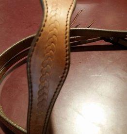 Circle L Circle L Scalloped Headstall - Draft Size