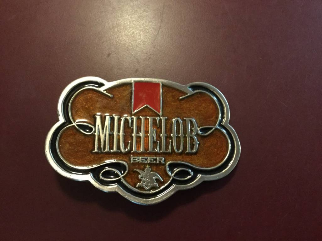 Belt Buckle - Michelob Beer