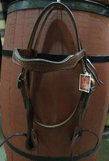 Circle L Circle L Scalloped Headstall - Horse Size