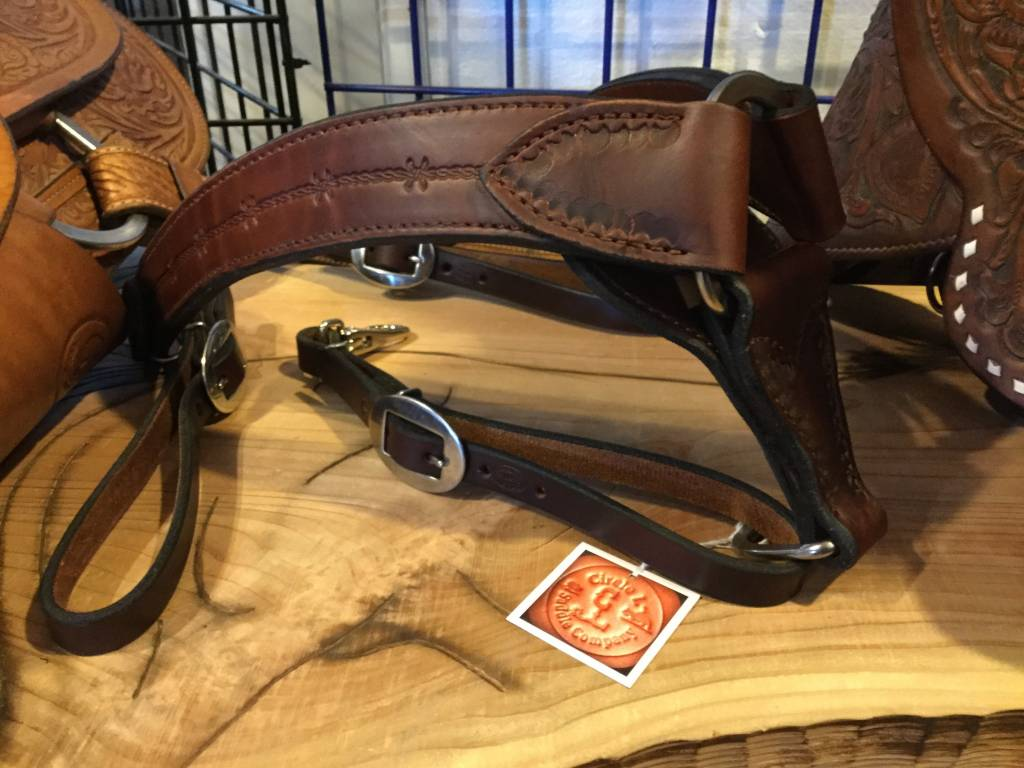 Circle L Circle L Straight Breast Collar, U.S.A. Made - Horse Size