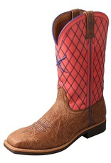 Twisted X Women's Twisted X Top Hand Boot – Brown Shoulder/Coral