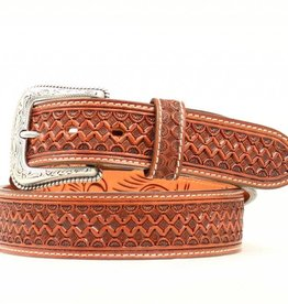 Nocona Adult - Nocona Hand Tooled Western Belt