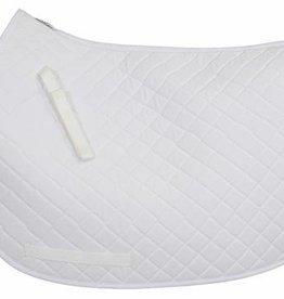 Tuffrider Saddle Pad - Basic All Purpose White