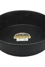 Little Giant Rubber Feed Pan Black - 3 Gallon