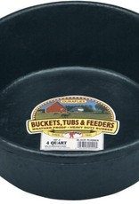 Little Giant Rubber Feed Pan - 4QT