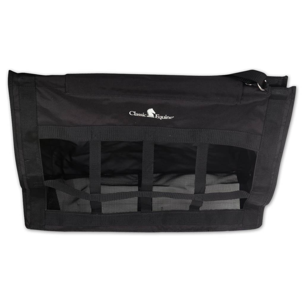 EquiBrand Top Load Hay Bag - Mardi Gras