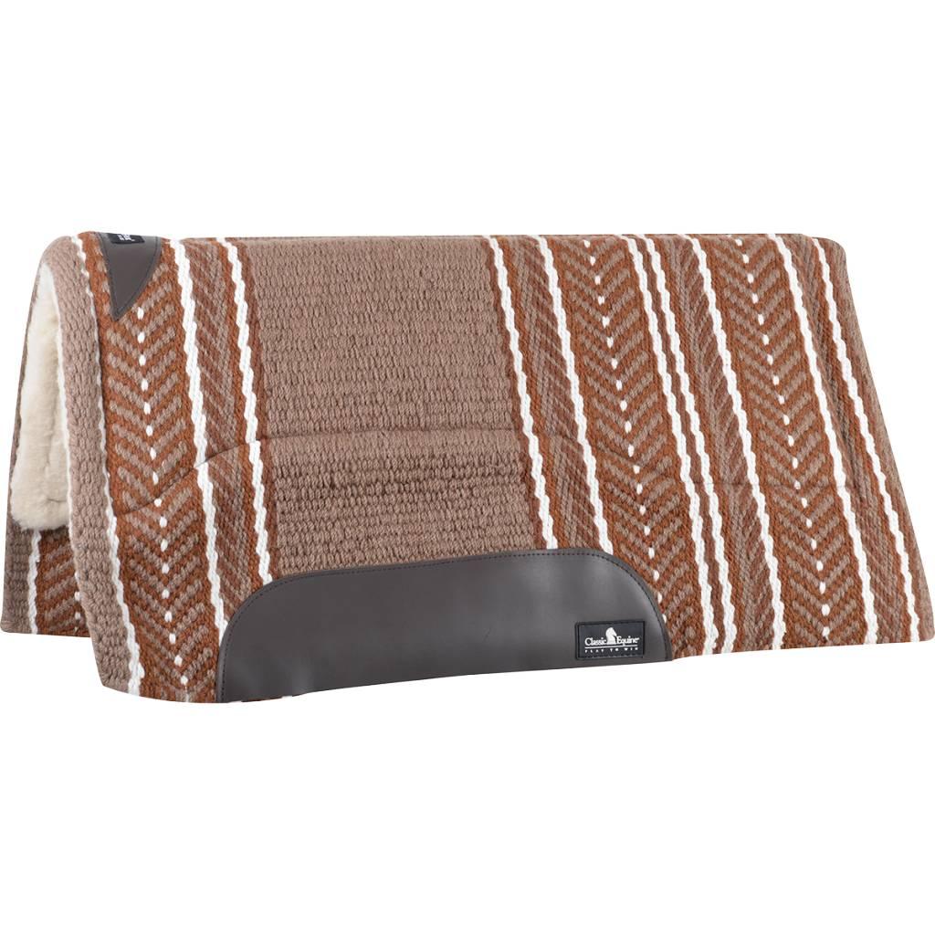 Classic Equine SensorFlex Wool Top Western Pad
