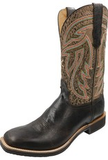 Twisted X Men's Twisted X Silver Buckle Rancher - Chocolate Shrunken Grain/Brown-Tan