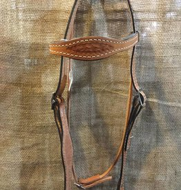 Nash Saddlery Nash Leather Headstall, M.Oil, U.S.A. Made - Horse Size ($79.95 @ 25% OFF!)