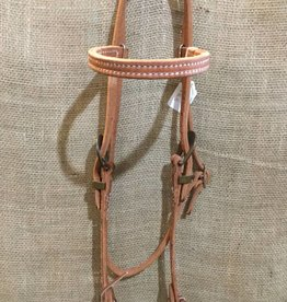 Lamprey Ranch Horse Headstall lite oil
