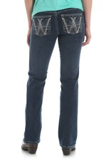Wrangler Women's Wrangler Cowgirl Cut Ultimate Riding Jeans - Q-Baby with Booty Up Technology