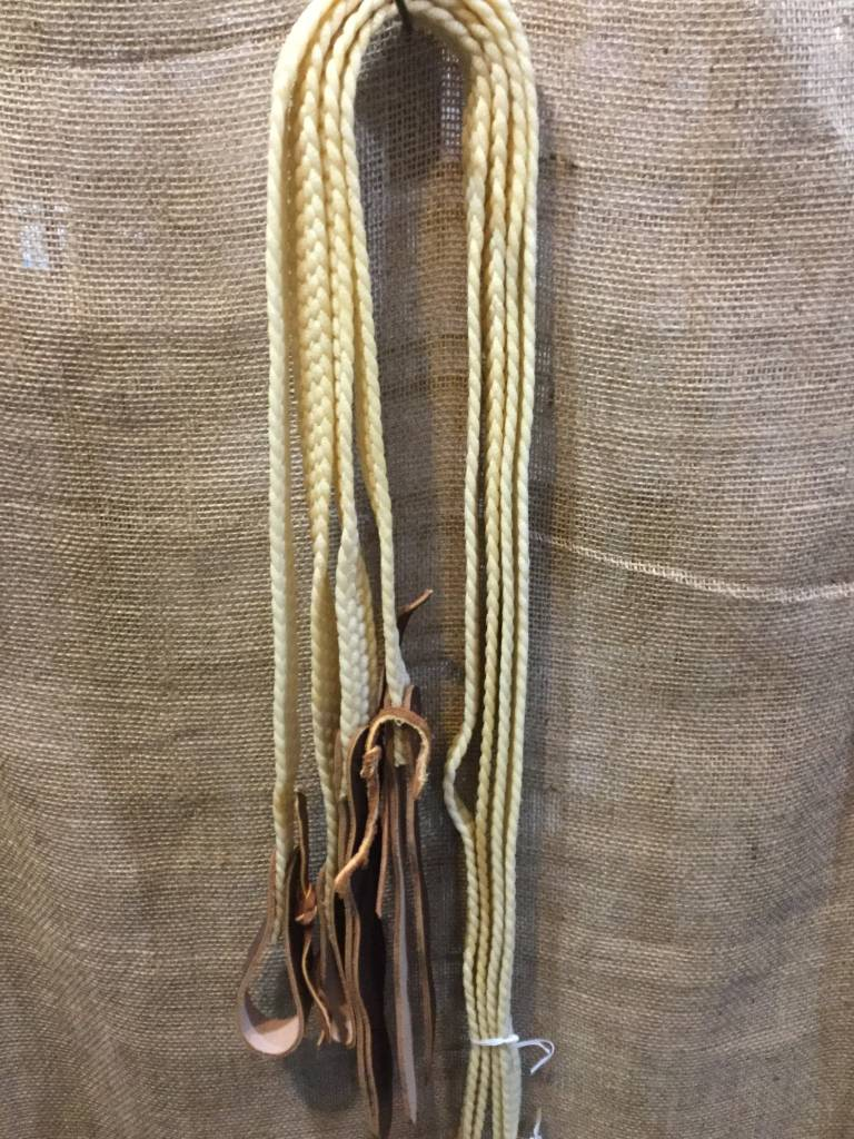 Circle L Circle L Waxed Braided Split Reins
