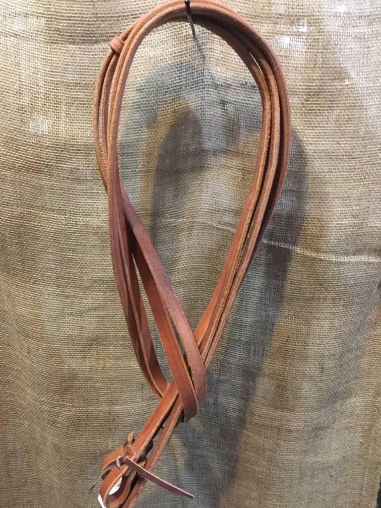 "Circle L Circle L Leather Split Rein Quick Change med oil 3/4"" x 8"