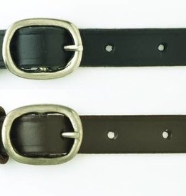 Camelot Childs Spur Straps Black 18