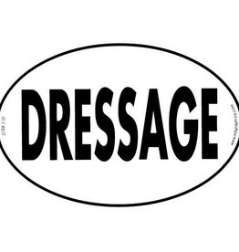 "Decal - ""Dressage"" Euro Style"