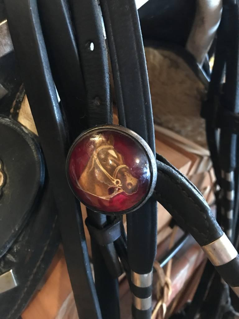 """Used Vintage Saddle King Saddle - 15"""""""
