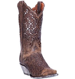 Dan Post Women's Dan Post Peek-A-Boo Western Boots
