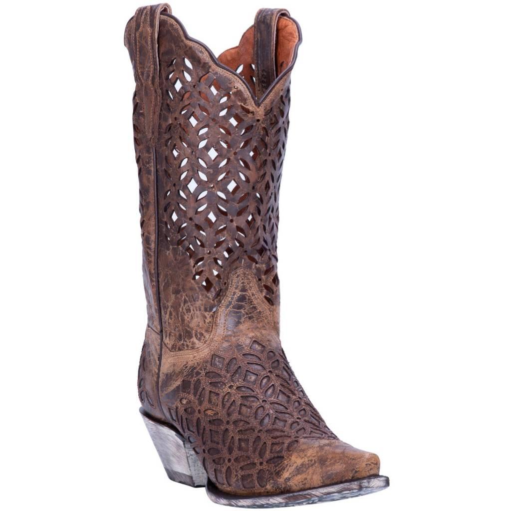 Dan Post Women's Dan Post Peek-A-Boo Western Boots