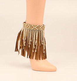 Beaded Fringe Boot Candy