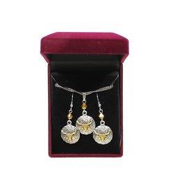 Set - Necklace/Earrings - Longhorn