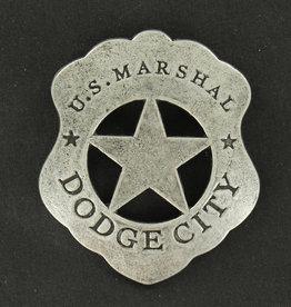 M & F Western Products Badge - U.S Marhsal