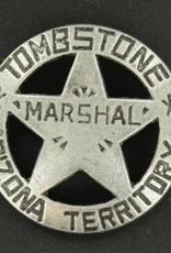 M & F Badge - Marshal