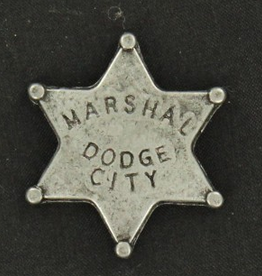 M & F Western Products Badge - Dodge City Marshal