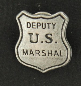 M & F Badge - Deputy U.S. Marshal