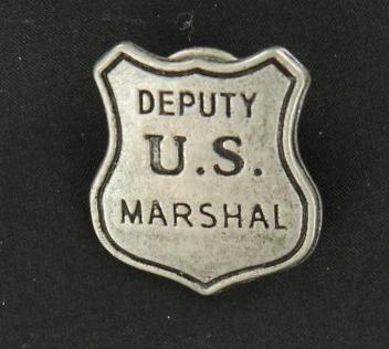 Badge - Deputy U.S. Marshal