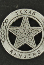 M & F Badge - Texas Rangers