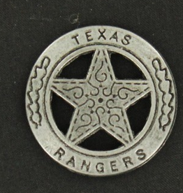 M & F Western Products Badge - Texas Rangers