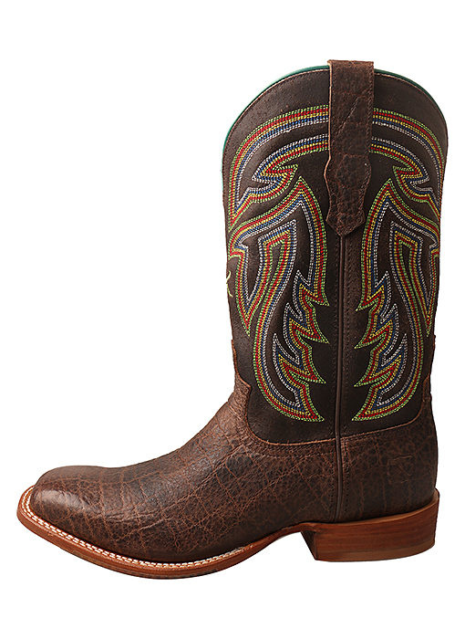 Twisted X Men's Twisted X Rancher Western Boot - Chocolate/Elephant Print