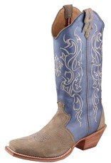 Twisted X Women's Twisted X Steppin Out Western Boot - Dusty Grey/Ocean