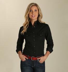 Wrangler Women's Wrangler Solid L/S Snap Shirt