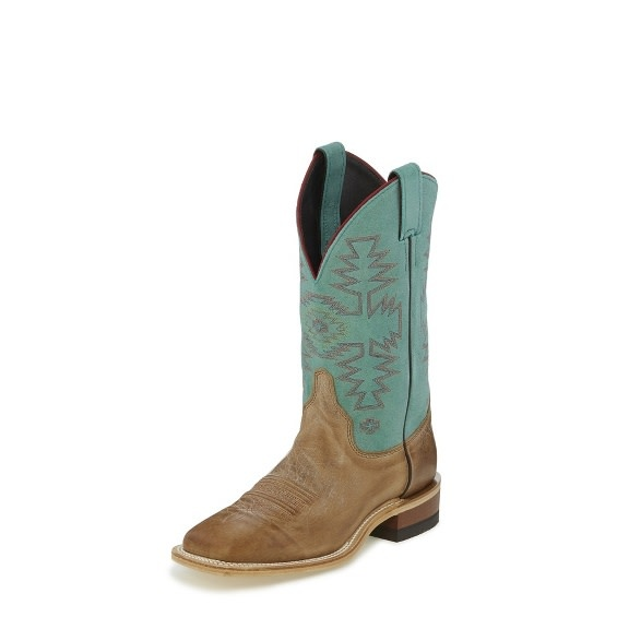 Justin Western Women's Justin Kenedy Turquoise Boots
